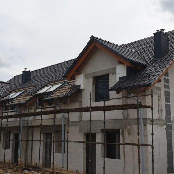 Dom w stanie surowym otwartym  3